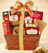 Scarlet Splendor Holiday Gift Basket