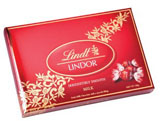 Lindt Chocolate red box