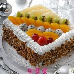 Continental fruit cake